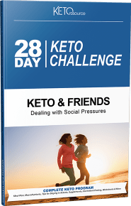 >Keto and Friends: Dealing with Social Pressures cover