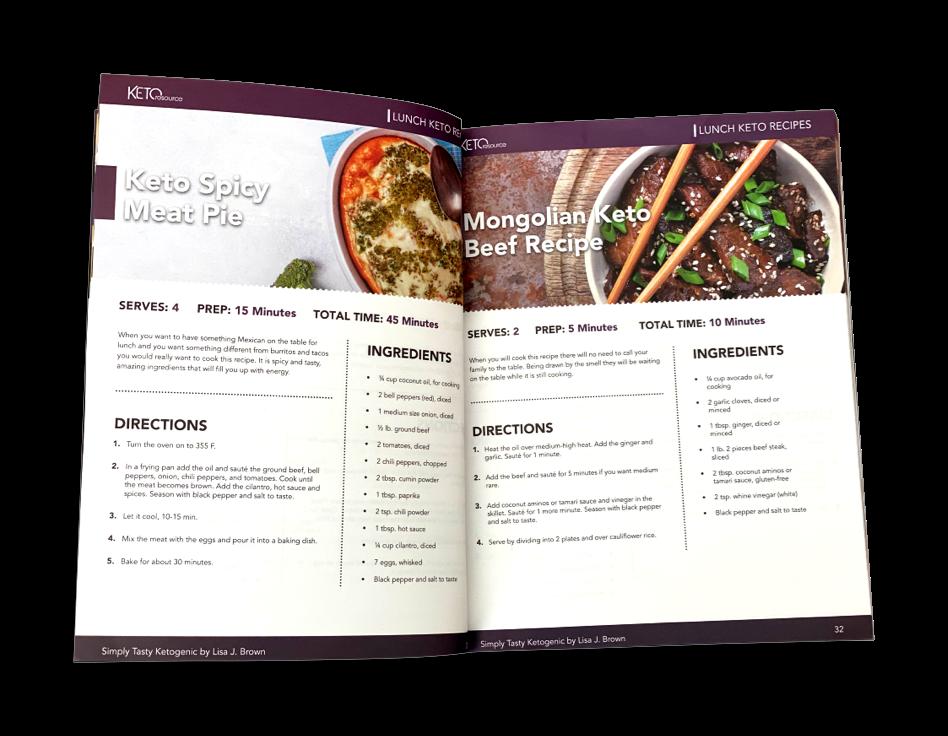 Keto Recipes CookBook
