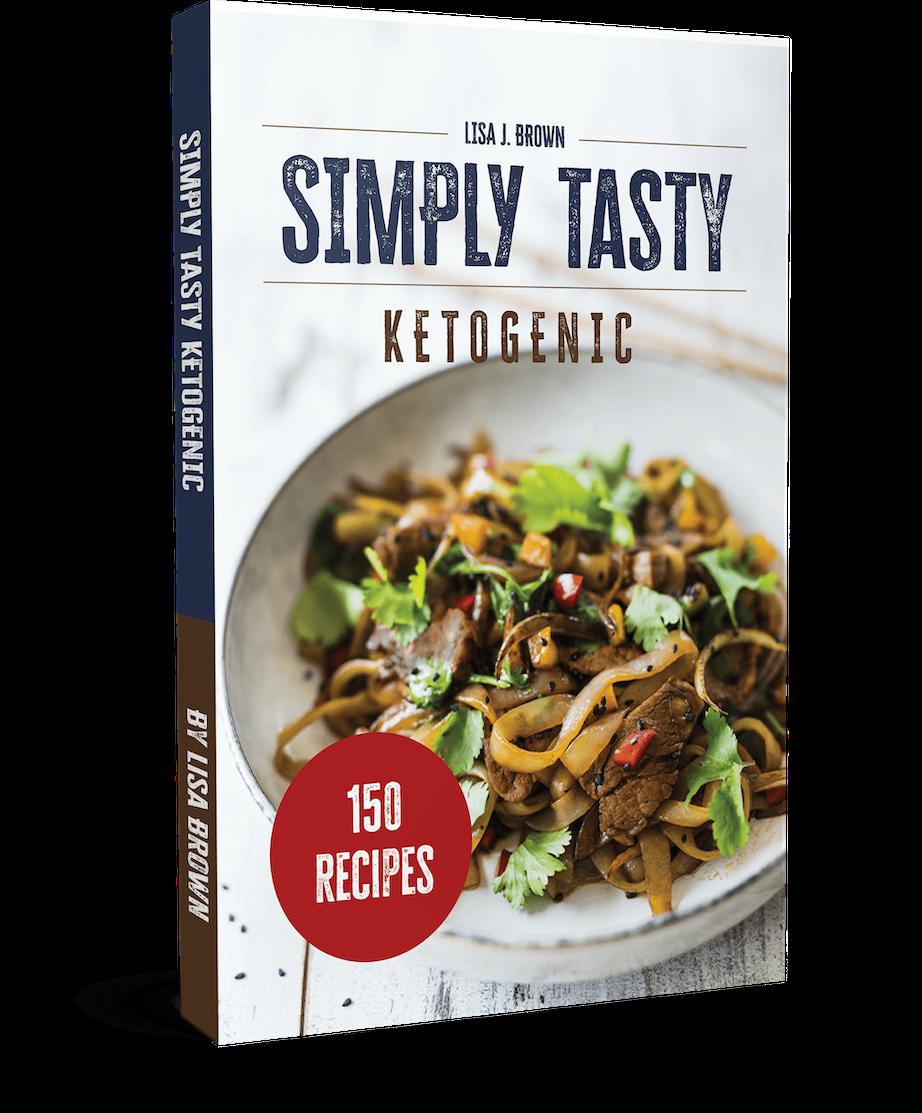 Simpy Tasty Ketogenic Cookbook 150 recipes